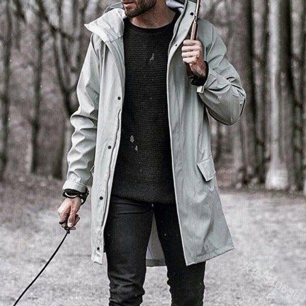 Autumn And Winter Hooded Jacket