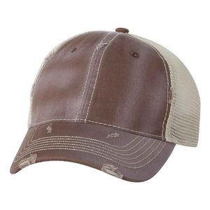Sportsman - Bounty Dirty-Washed Mesh-Back Cap - 3150 - Olive/Khaki