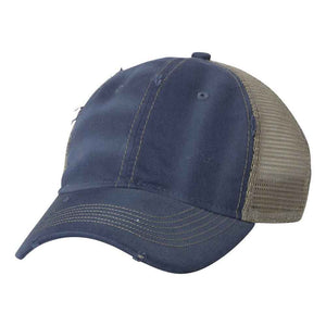 Sportsman - Bounty Dirty-Washed Mesh-Back Cap - 3150 - Ocean/Sage