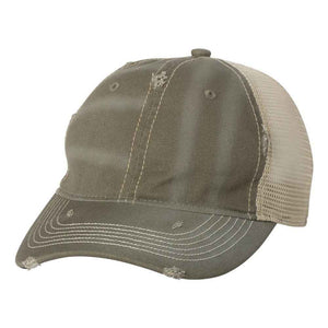 Sportsman - Bounty Dirty-Washed Mesh-Back Cap - 3150 -