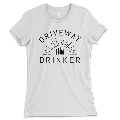 Driveway Drinker Fitted Tee - Small