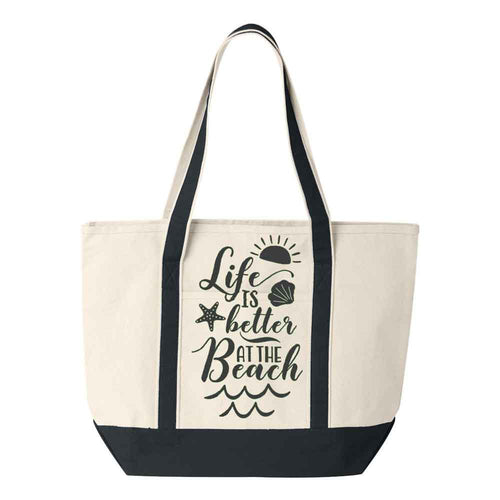 Life Is Better at the Beach Tote - Default Title