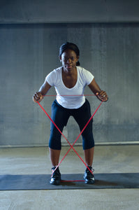 PREMIUM LONG RESISTANCE BAND & ATTACHMENT SET