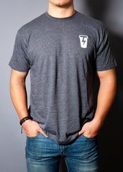 Logo Back Grey T-Shirt