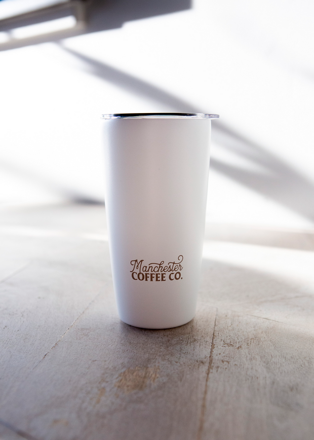 White Insulated Tumbler
