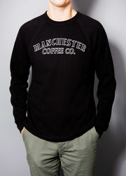Wordsmith Black Crewneck Sweatshirt