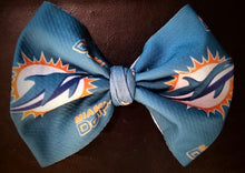 Load image into Gallery viewer, Miami Dolphins Bow