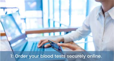 Order your blood tests securely online