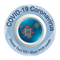 COVID-19 (SARS-CoV-2) Coronavirus Home Test Kit by Dual RT-PCR