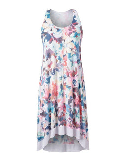 A-Line Dress with Lining LIGHT JERSEY StoneFlowers