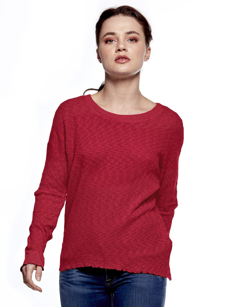 Dolman Long Sleeve StoneFlowers