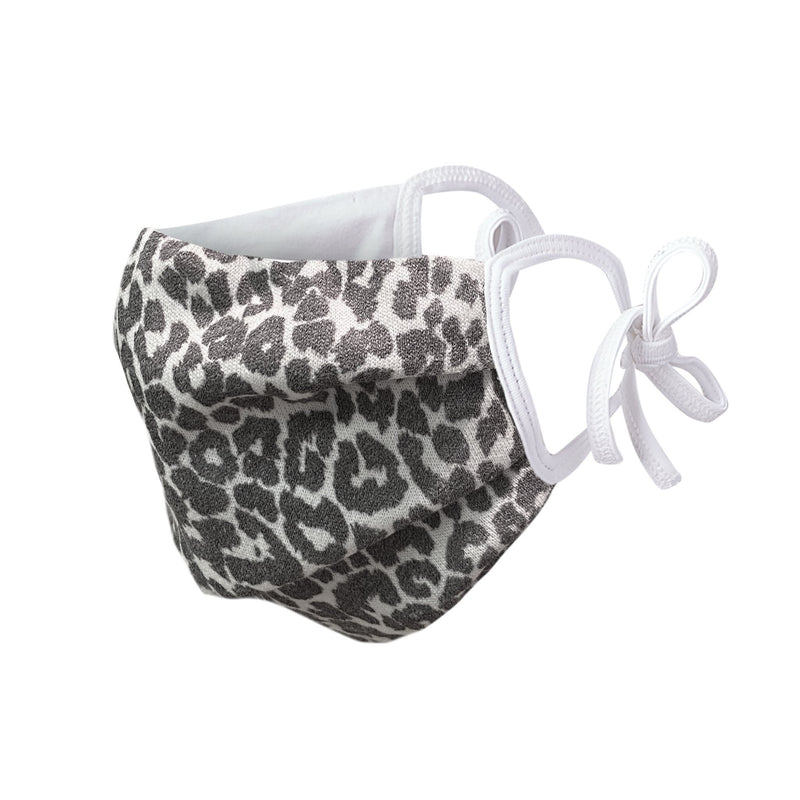 Reusable Face Masks Snow Leopard StoneFlowers