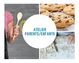 MERCREDI 30 SEPTEMBRE de 14h30 à 17h00 ATELIER PARENTS ENFANTS GNOCCHIS & COOKIES