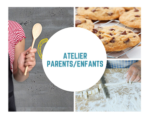 MERCREDI 23 SEPTEMBRE de 9h30 à 12h00 ATELIER PARENTS ENFANTS GNOCCHIS & COOKIES