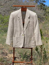 Load image into Gallery viewer, Vintage 100% Linen Talbots Blazer Size 10