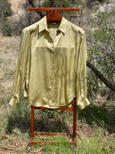 Load image into Gallery viewer, Vintage 100% Silk Evan-Picone Blouse Size 12