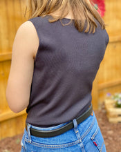Load image into Gallery viewer, Vintage Ann Taylor Ribbed Top Size Medium