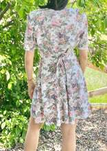 Load image into Gallery viewer, Vintage Lace Collar Floral Dress Size 11