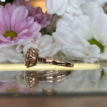 Load image into Gallery viewer, Morganite & Diamond Ring in Rose Gold