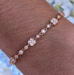 Rose Gold Diamond Bracelet