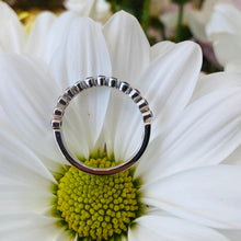 Load image into Gallery viewer, Sapphire Bezel Set Ring
