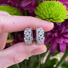 Load image into Gallery viewer, Fancy Shaped Diamond Hoops