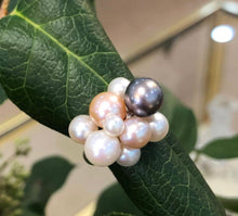 Load image into Gallery viewer, Bubbly Pearl Sterling Silver Ring