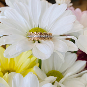 Custom Diamond Petals Ring