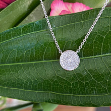 Load image into Gallery viewer, Petite Free Form Diamond Necklace in White Gold