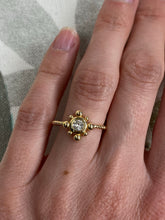 Load image into Gallery viewer, Yellow Gold and Diamond Bubble Ring
