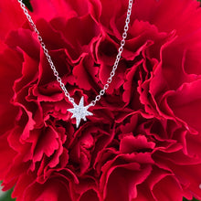 Load image into Gallery viewer, Dainty North Star Diamond Necklace