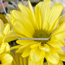 Load image into Gallery viewer, Diamond Bar Necklace
