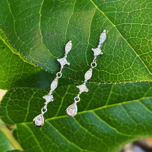Load image into Gallery viewer, Dainty Diamond Drop Earrings