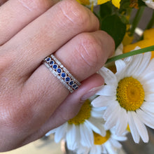 Load image into Gallery viewer, Dainty Stackable Diamond Band