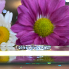 Load image into Gallery viewer, Princess Cut Diamond Band 0.45CTW