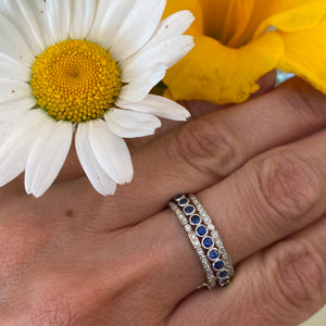 Dainty Stackable Diamond Band
