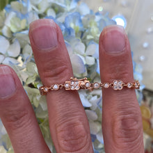 Load image into Gallery viewer, Rose Gold Diamond Bracelet