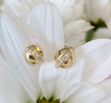 Load image into Gallery viewer, Yellow Gold Diamond Stud Earrings