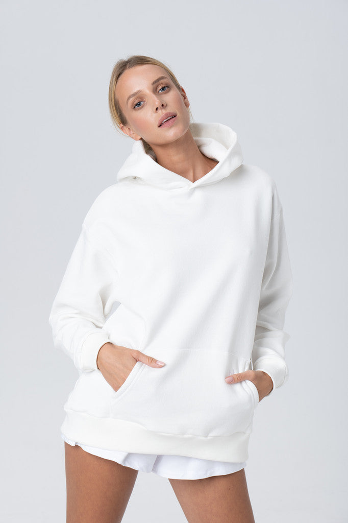 Oversize Hoodies White - Les Goodies