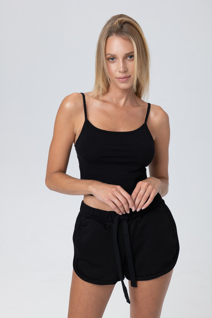 Chloe black top - Les Goodies