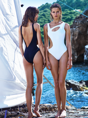 ANDROMEDAE Swimsuit Black - Les Goodies