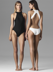 OLYMPIC  Swimsuit Black - Les Goodies