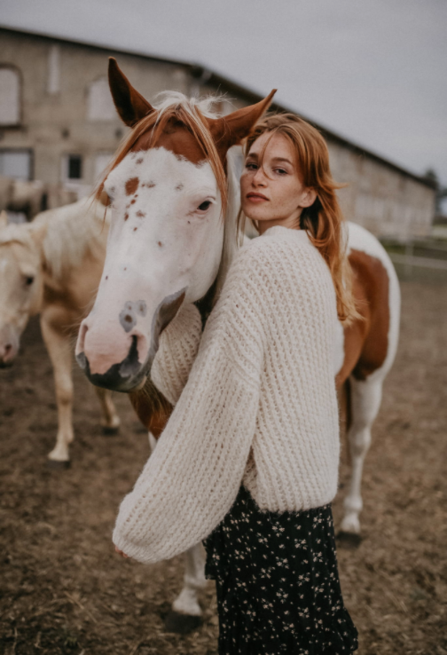 Haze Alpaca Sweater - Les Goodies