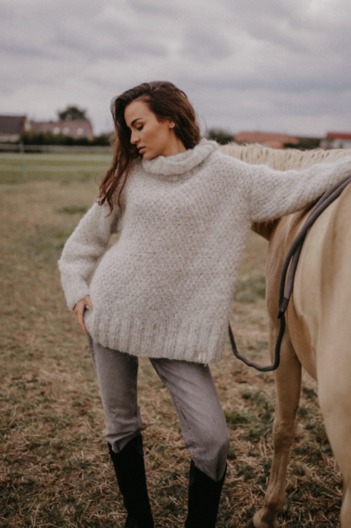 River Alpaca Sweater - Les Goodies