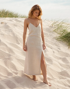 Nudey Linen Dress - Les Goodies