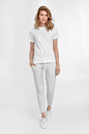 Basic Crewneck White Top - Les Goodies