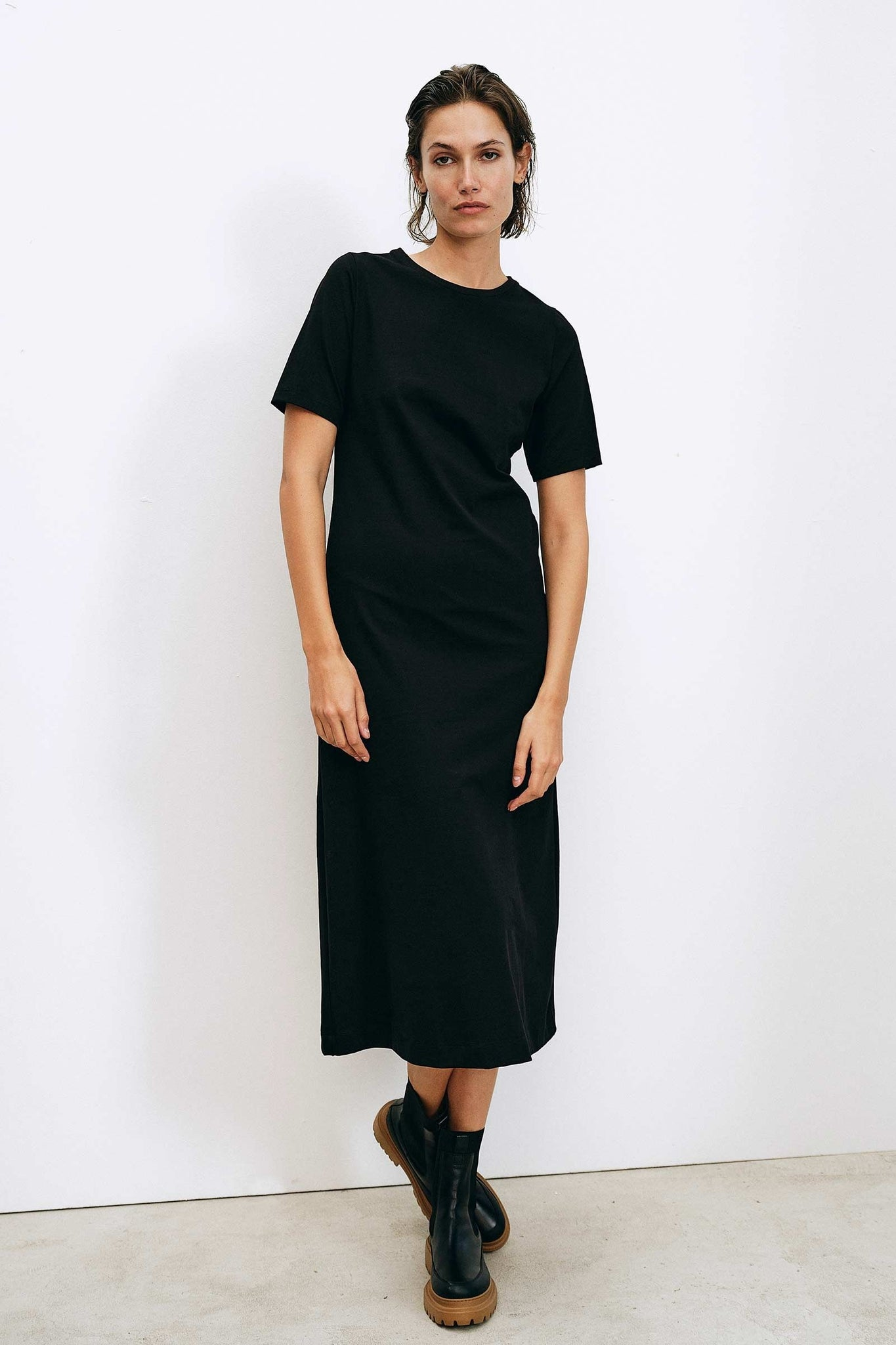 DUNNA BLACK DRESS - Les Goodies