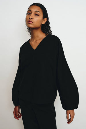 GAMMA BLACK BLOUSE - Les Goodies