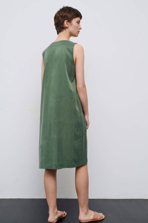Jill Olive Dress - Les Goodies
