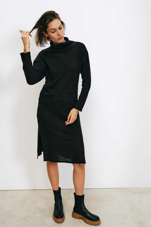 Lange Black Dress - Les Goodies